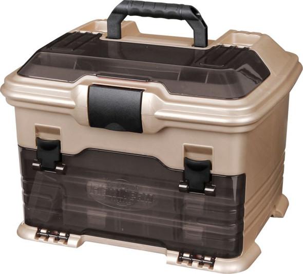 Flambeau T4 Multiloader - Smoke Hard Tackle Box