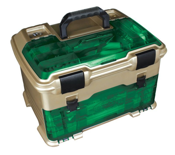 Flambeau T5 Multiloader - Green Hard Tackle Box