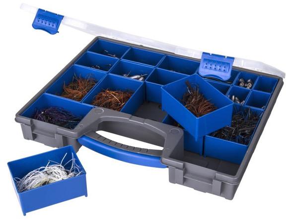 Flambeau Large IQ Utility Box - Includes 19 Zerust Tray Cups