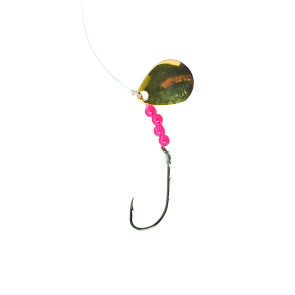 Eagle Claw - Brass 2 Way Spinner Rig - Size 10 Hook