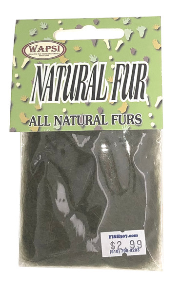 Wapsi All Natural Fur - Olive Hares Mask
