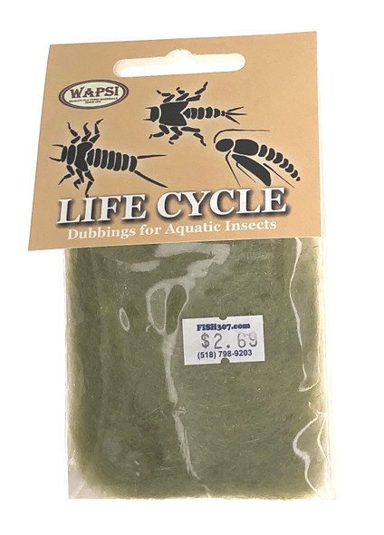 Wapsi Life Cycle Dubbin - Nymph Light Olive