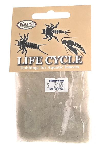 Wapsi Life Cycle Dubbin - Caddis Cream