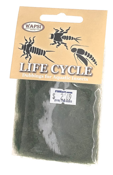 Wapsi Life Cycle Dubbin - Caddis Green