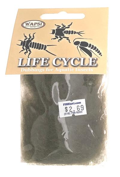 Wapsi Life Cycle Dubbin - Caddis Olive