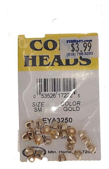 Wapsi Cone Heads - 24 per pack - Gold SM
