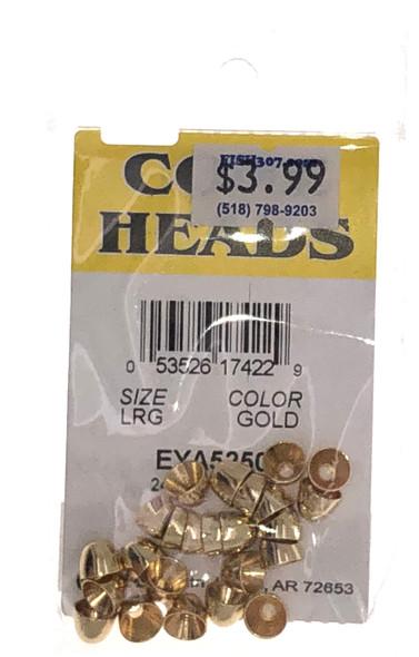 Wapsi Cone Heads - 24 per pack - Gold LRG