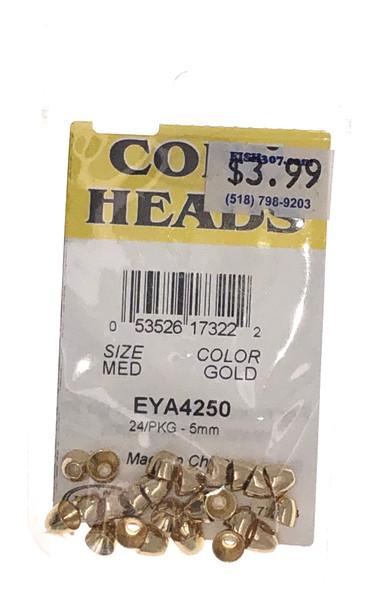 Wapsi Cone Heads - 24 per pack - Gold MED
