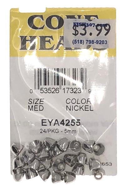 Wapsi Cone Heads - 24 per pack - Nickel MED