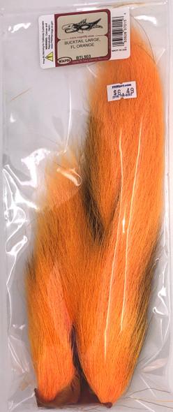 Wapsi Large Bucktail - Fl. Orange