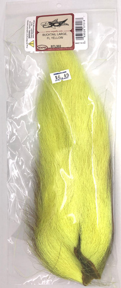 Wapsi Large Bucktail - Fl. Yellow