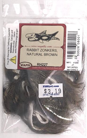Wapsi Rabbit Zonkers - Natural Brown