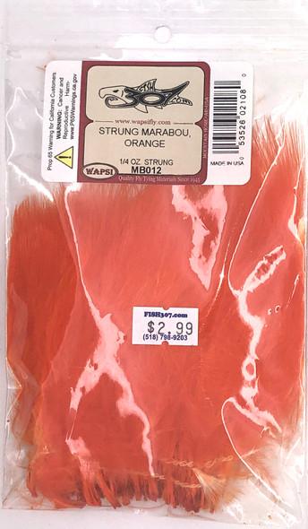 Wapsi Strung Marabou - Orange