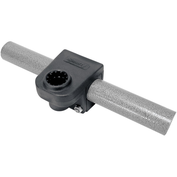 "Scotty 245 1-1/4"" Round or Square Rail Mounting Adapter"
