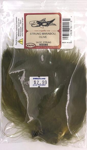 Wapsi Strung Marabou - Olive