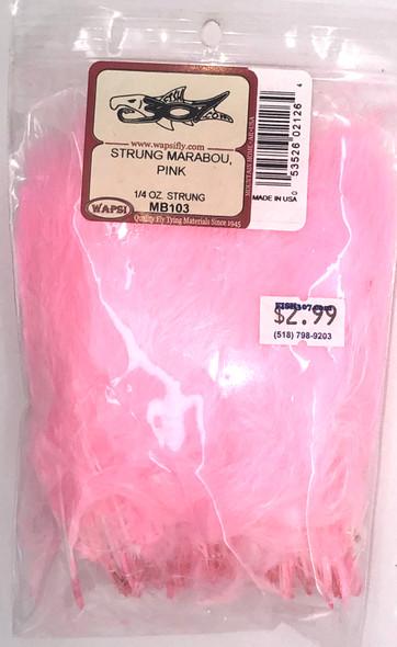 Wapsi Strung Marabou - Pink