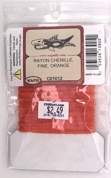 Wapsi Rayon Chenille Fine - Orange