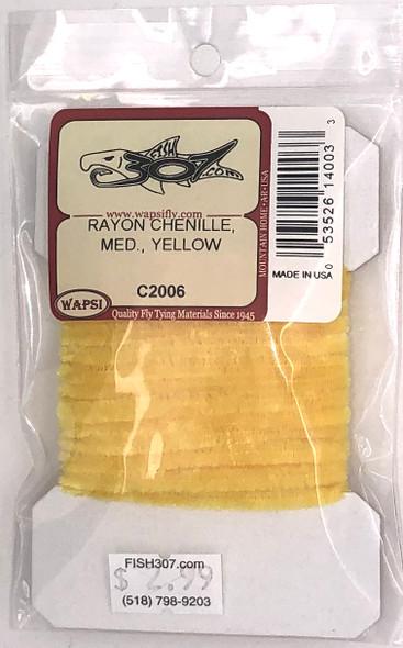 Wapsi Rayon Chenille Medium - Yellow
