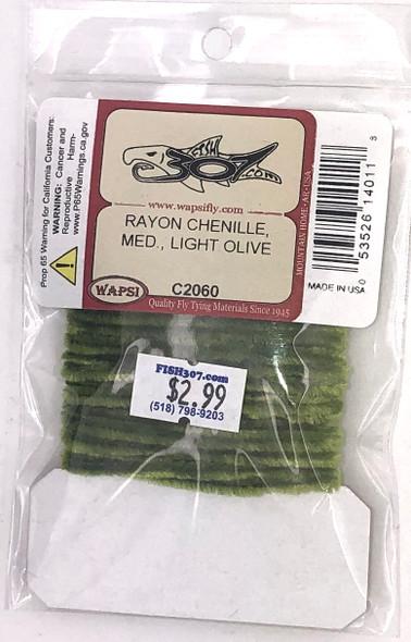 Wapsi Rayon Chenille Medium - Light Olive