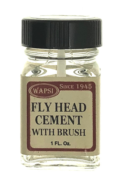 Wapsi Fly Head Cement - With Brush