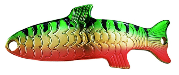 "Acme S300/MPR Phoebe Spoon, 1 1/4"", 1/12 oz, Metallic Perch"