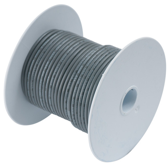 Ancor Grey 14 AWG Tinned Copper Wire - 250'