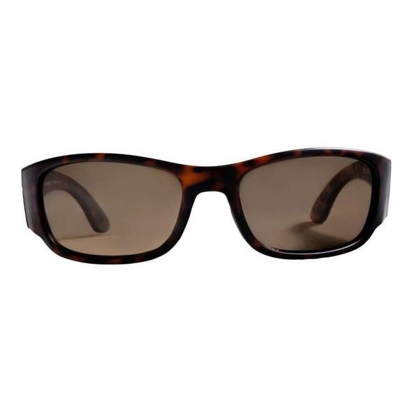 Rheos Sunglasses - Bahias - Nylon Optics-Tortoise | Amber