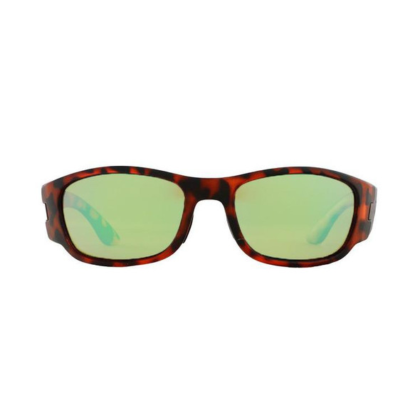 Rheos Sunglasses - Bahias - Nylon Optics- Tortoise | Emerald