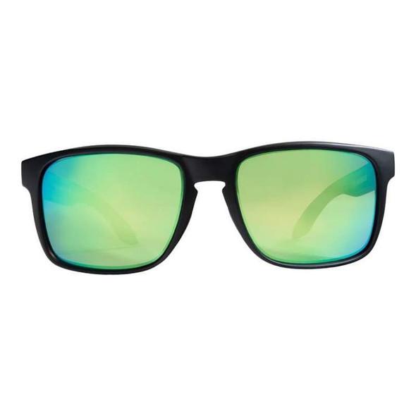 Rheos Sunglasses - Coopers - Nylon Optics-Gunmetal | Emerald