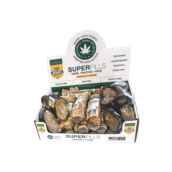 Advanced Pet Products Well Superfills Horn w/ Cheese & Hemp