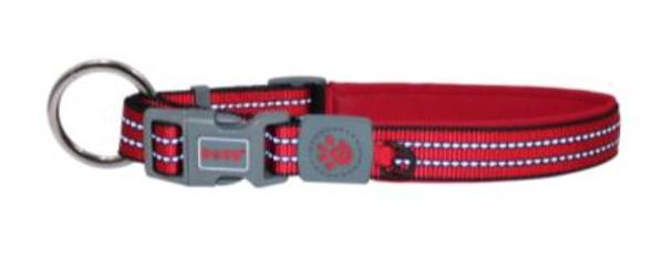Doco Vario O-Ring Collar - Medium Red