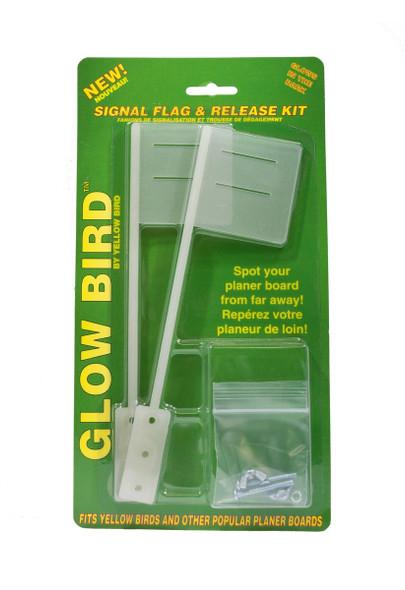 Yellow Bird - Glow Flag Kit - No Releases (2 Glow Flags & Hardware) (GFK100)