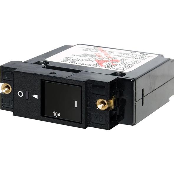"Blue Sea 7427 Single Pole Small Case 2"" Slot Reset Rocker Circuit Breaker - 10 Amp"