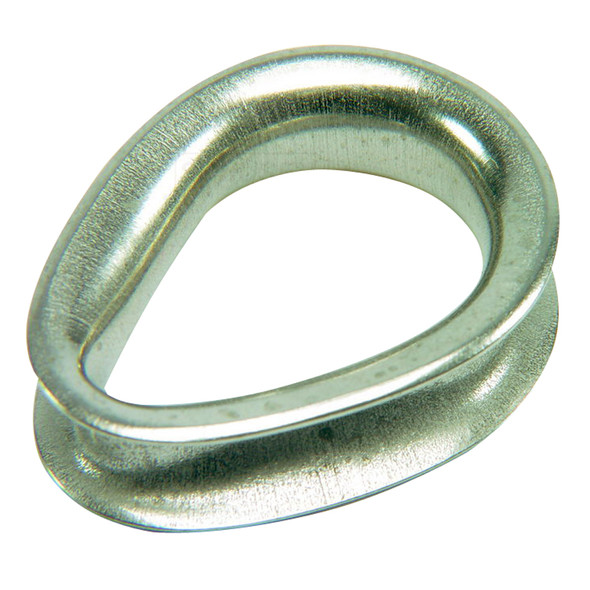 """Ronstan Sailmaker Stainless Steel Thimble - 4mm (5/32"""") Cable Diameter"""