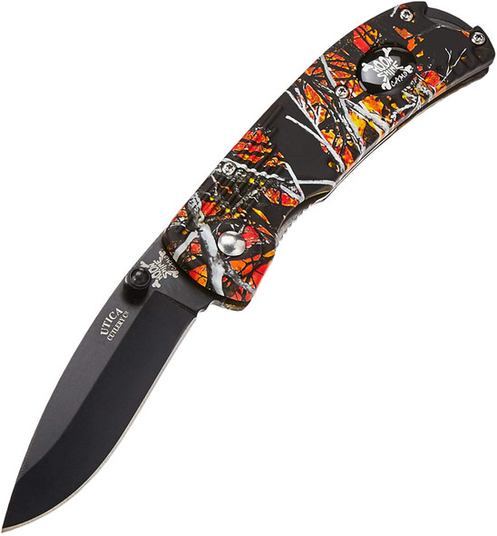 Utica Cutlery  - Wildfire Triple Action Spring Assisted Opening Knife - M203CP