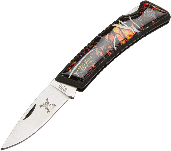 "Utica Cutlery - Wildfire Camo 3"" Lock Back Knife - M181413CP"