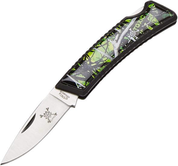 "Utica Cutlery - Toxic Camo 3"" Lock Back Knife - M181414CP"
