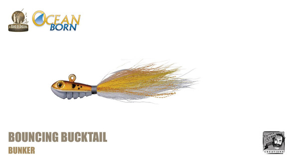 Band of Anglers OCEAN BORN™ - Bouncing Bucktail - Bunker