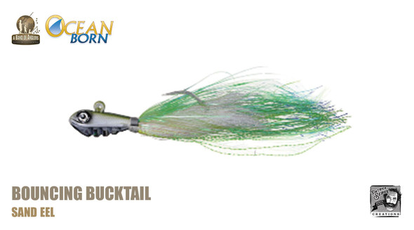 Band of Anglers OCEAN BORN™ - Bouncing Bucktail - Sand Eel