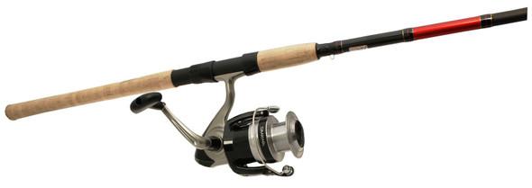 "Riversider 8'6"" Medium Salmon Steelhead Spin Combo W/ Daiwa SF4000"