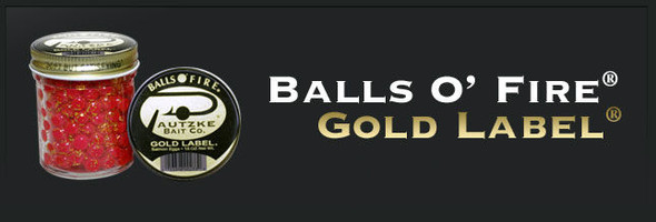 Pautzke Balls O Fire - Salmon Eggs Gold Label 15 Oz