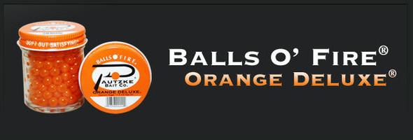Pautzke Balls O Fire - Salmon Eggs Orange Deluxe 15 Oz