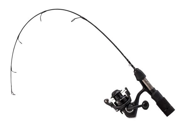 """13 Fishing - Blackout Ice Combo - 24"""" UL (Ultra Light)"""