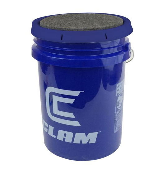 Clam 6 Gallon Bucket with Lid