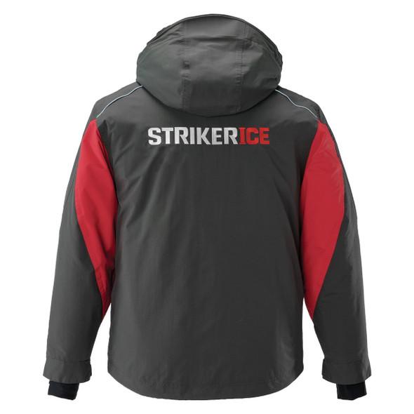 Striker Ice - Men's Predator Jacket - Charcoal / Red