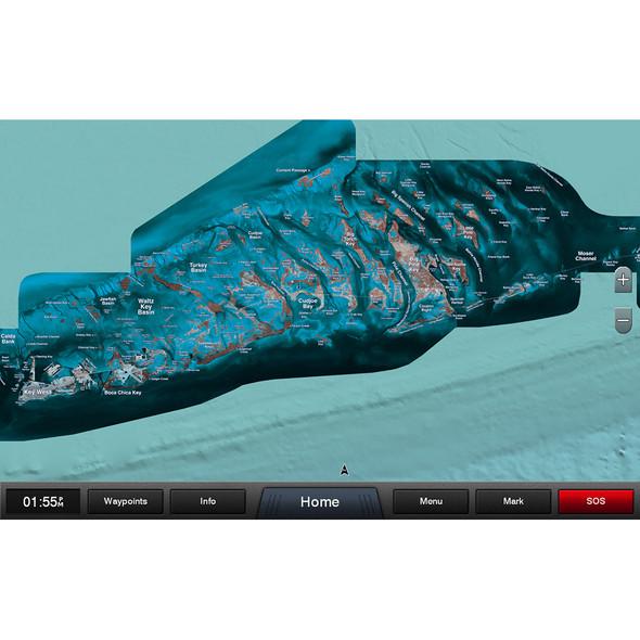 Garmin Standard Mapping - Florida Keys Classic microSD/SD Card