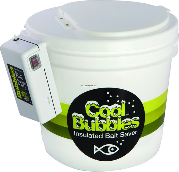 Marine Metal Cool Bubbles 3.5 Gal Insulated Pail w/ Pump