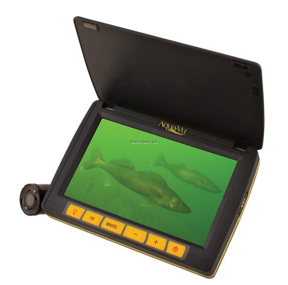 Aqua-Vu 100-7540 micro 5.0 Revolution, High Res LCD with Integrated Spool Micro Camera