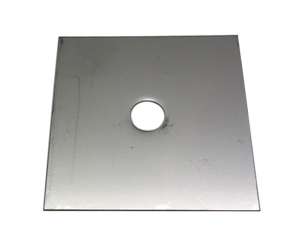Scotty Downrigger Part - S-SSCUTSQ278 - TOP PLATE,SQUARE,STEEL,SMALL (S9106)