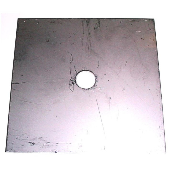 Scotty Downrigger Part - SS SQUARE BRAKE PLATE 4""